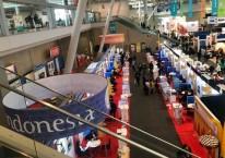 Paviliun Indonesia turut meramaikan Seafood Expo North America (SENA) yang dibuka di Boston, Amerika Serikat, Minggu (11/3/2018) pagi waktu setempat./JIBI-Hery Trianto
