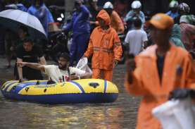 BPBD DKI Sebut Ada 34 Titik Rawan Banjir di Jakarta