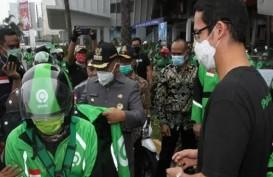 Pendapatan Taksi Online Tergerus Hingga 80 Persen Selama Pandemi