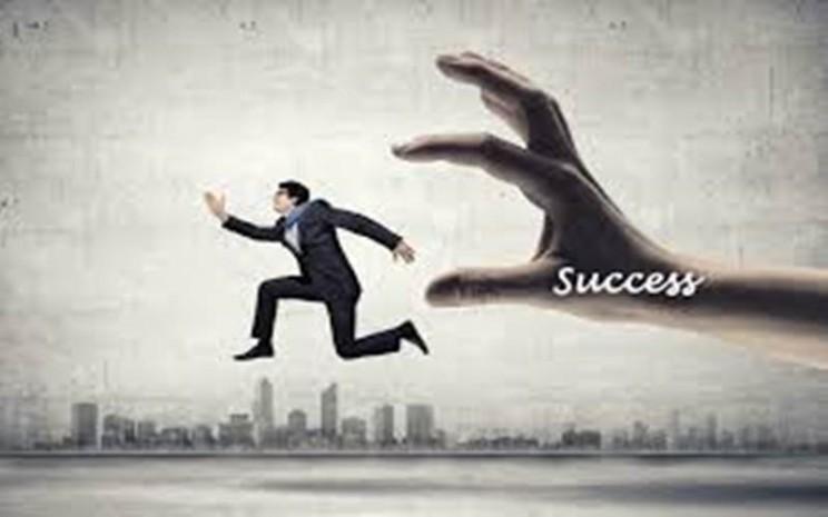Ilustrasi kesuksesan