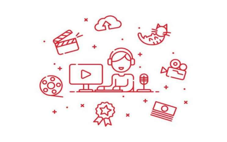Ilustrasi content creator