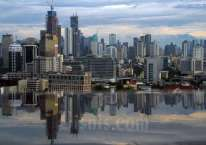 Pemandangan gedung bertingkat di Jakarta./Bisnis/Arief Hermawan