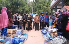 Kemensos Titipkan Bantuan untuk Korban Longsor Tanjung Pinang