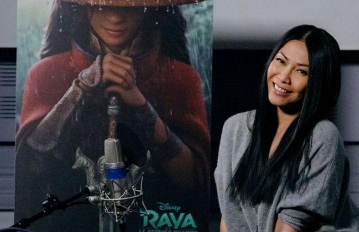 Anggun C. Sasmi menjadi pengisi suara di film Disney 'Raya and the Last Dragon'