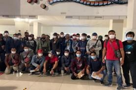 Pekerja Migran dari Sejumlah Negara di Pasifik Tiba…