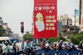 Kasus Covid-19 di Vietnam Terus Bertambah, Menyebar…