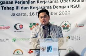 Erick Thohir Pastikan BUMN Dukung Gerakan Nasional…