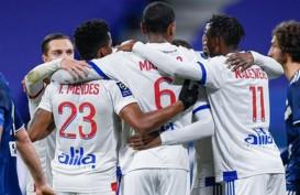 Hasil Liga Prancis : Lyon Sikat Bordeaux, Lewati Paris Saint-Germain