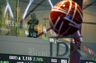 IHSG Koreksi Januari, Kapitalisasi Pasar Amblas Rp139,65 Triliun