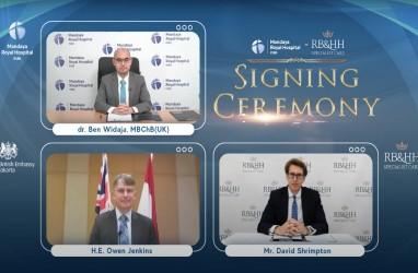 RS Inggris Kerja Sama Layanan Kardiorespirasi dengan RS Indonesia