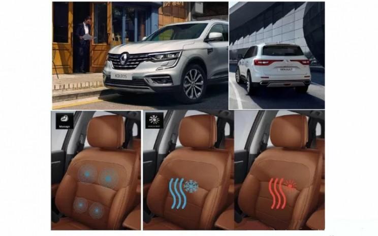 Interior Renault Koleos.  - Renault/Antara