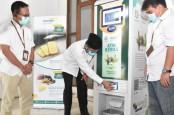 Di Padang, ATM Bank Syariah Mandiri Keluar Beras