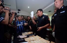 Lagi! Bea Cukai dan Polri Sita 8 Kilogram Sabu Selundupan asal Malaysia
