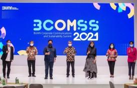 BRI Raih Penghargaan Best of the Best Communications pada Ajang BCOMSS