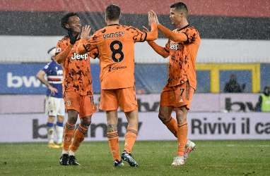 Hasil Liga Italia : Juventus Tundukkan Sampdoria, Gusur Roma