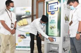 Bank Syariah Mandiri Hadirkan ATM Beras di Masjid…