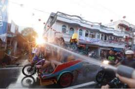 Akibat Pandemi, Festival Perang Air 2021 di Meranti…