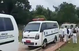 CEK FAKTA: Antre Penguburan Jenazah Covid-19 di TPU Bambu Wulung