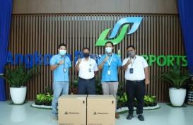 Angkasa Pura I Terima 4.000 Masker dari Biznet