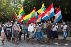Sekjen PBB Kutuk Kudeta Myanmar dan Penahanan Aung…