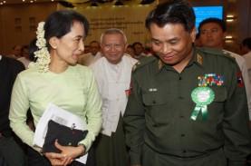 Militer Myanmar Tahan Aung San Suu Kyi Cs, Amnesty…
