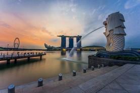 Turis Asing yang Masuk ke Singapura Anjlok 85,7 Persen…