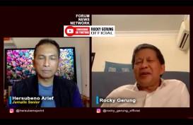 Rocky Gerung: Ambisi Politik Tokoh Istana Kegedean