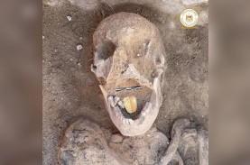 Mumi Berlidah Emas Berusia 2.000 Tahun Ditemukan di…