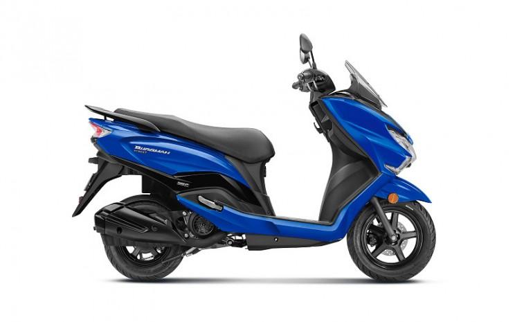 Suzuki Burgman.  - Suzuki India