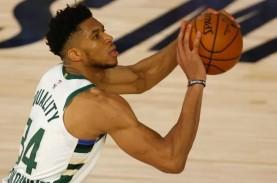 Hasil Pertandingan NBA, Antetokounmpo Bawa Bucks Tekuk…