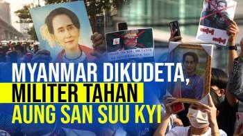 Kudeta Militer Myanmar, Bagaimana Kelanjutan Karier Politik San Suu Kyi?