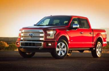 Lagi, Ford Motor Pangkas Produksi Pikap F-150 di AS