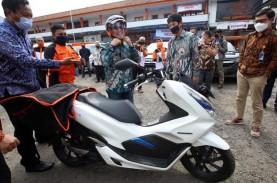 Pos Indonesia Gunakan Motor Listrik