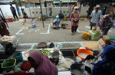 Jelang 'Lockdown' Jateng, Harga Bahan Pangan Pokok Meroket
