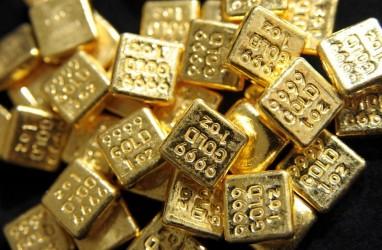 Harga Emas Turun Hampir 2 Persen dalam Sepekan