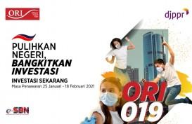 Hampir Dua Pekan Dirilis, ORI019 Terjual Rp9,05 Triliun