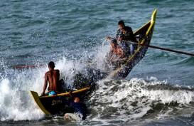 Ada Cuaca Buruk, Nelayan di Perairan Banten Tidak Bisa Melaut