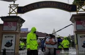 Tahanan Polisi Terpaksa Dievakuasi Akibat Banjir Semarang