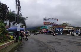 Suasana Tawangmangu saat Jateng di Rumah Saja Hari Pertama