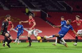 Hasil Lengkap Liga Inggris : MU Lepas 3 Poin di Depan Mata vs Everton