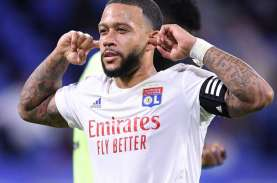 Hasil Liga Prancis, Memphis Depay Bawa Lyon Pimpin…