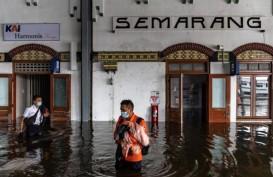 Stasiun Terendam Banjir, KAI Lakukan Ini