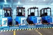 Chandra Asri Gandeng BYD Operasikan 53 Forklift Listrik