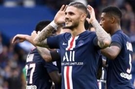 Hasil Liga Prancis, Mbappe & Icardi Bawa PSG Tundukkan…