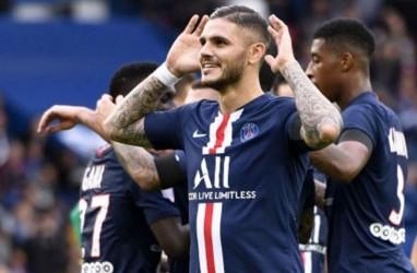 Hasil Liga Prancis, Mbappe & Icardi Bawa PSG Tundukkan Marseille