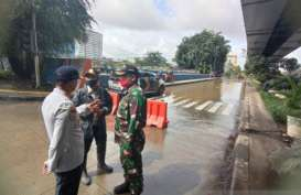 Banjir Jakarta: Sudinhub Rekayasa Lalu Lintas di Gunung Sahari