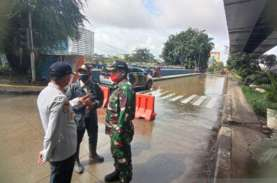 Banjir Jakarta: Sudinhub Rekayasa Lalu Lintas di Gunung…