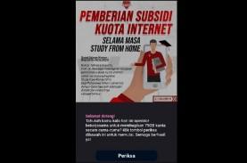 CEK FAKTA: Subsidi Kuota Internet 75 GB Kominfo. Benar…