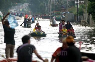 Air Belum Surut, 23 Desa di Karawang Masih Terendam Banjir