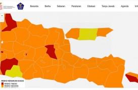 Zona Merah Covid-19 di Jatim per 7 Februari Kota Madiun dan Jombang